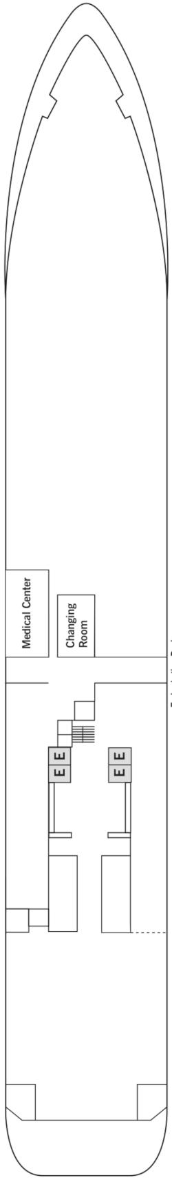 Silver Wind Deck 3 Deck Plan