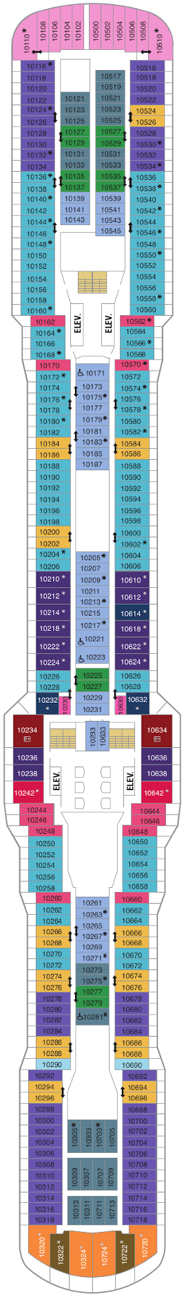 Quantum Of The Seas Deck Ten Deck Plan