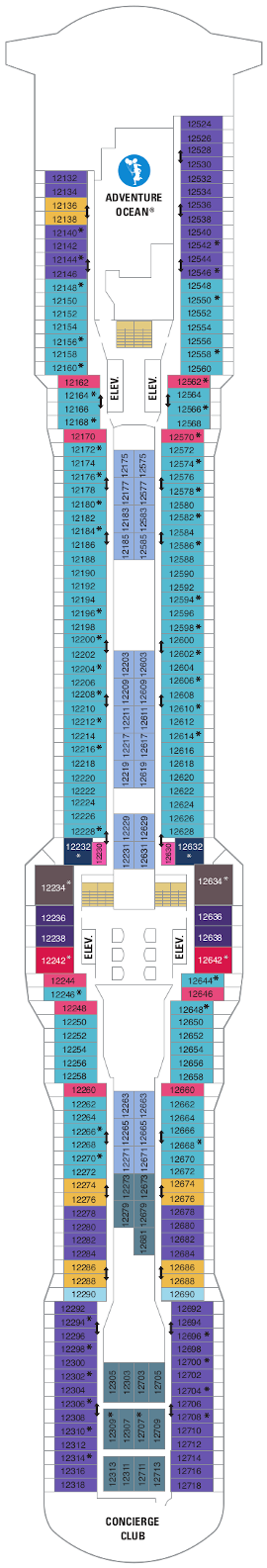 Quantum Of The Seas Deck Twelve Deck Plan