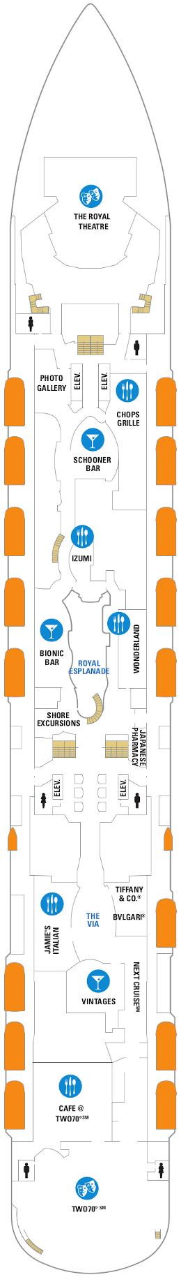 Quantum Of The Seas Deck Five Deck Plan