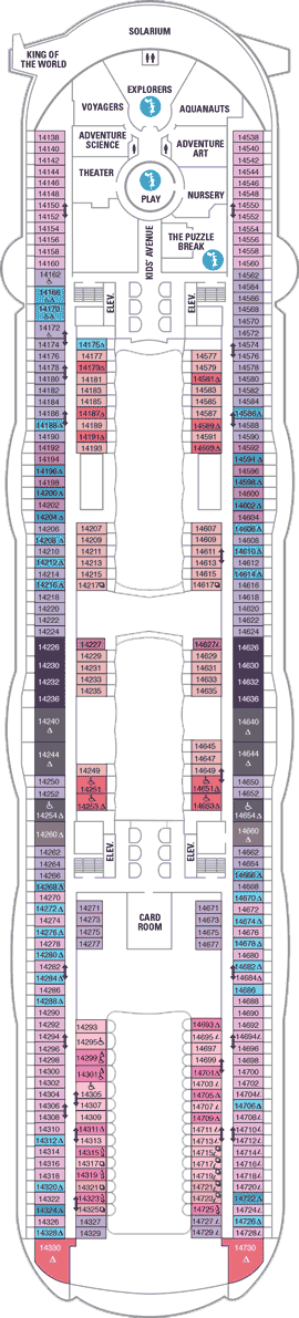 Harmony Of The Seas Null Deck Plan