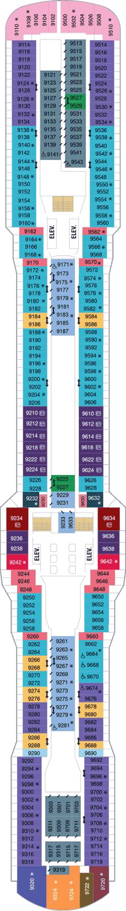 Ovation Of The Seas Null Deck Plan