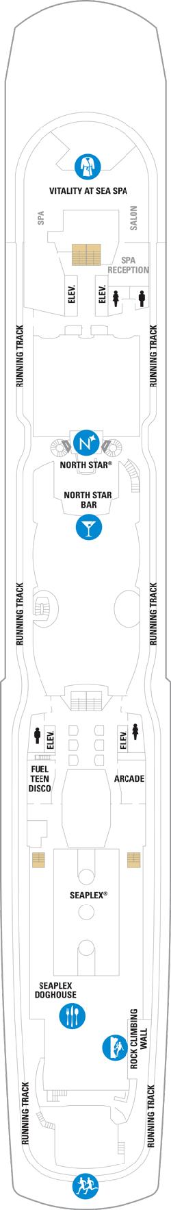 Ovation Of The Seas Deck Fifteen Deck Plan