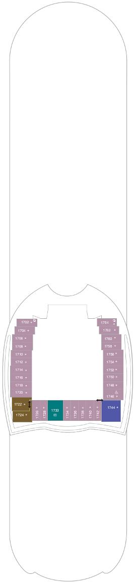 Symphony Of The Seas Deck Eighteen Deck Plan