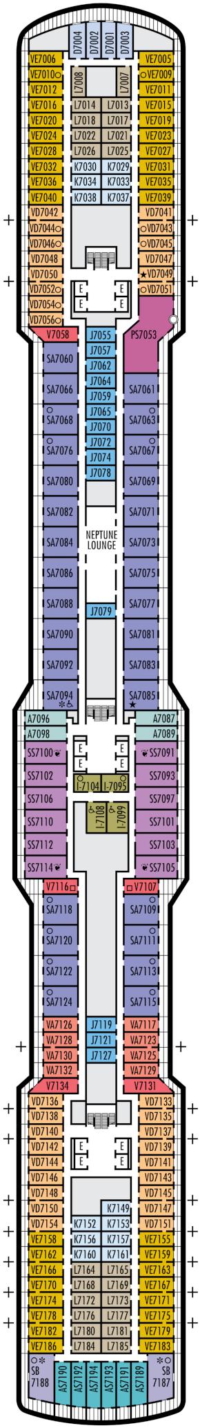 Nieuw Statendam Schubert Deck Deck Plan