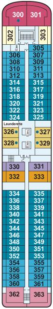 Viking Mississippi Deck 3 Deck Plan