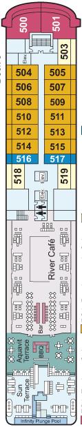 Viking Mississippi Deck 5 Deck Plan