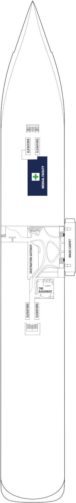 Celebrity Apex Deck Two Deck Plan