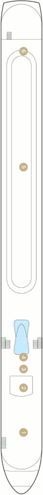 Amalucia Sun Deck Deck Plan
