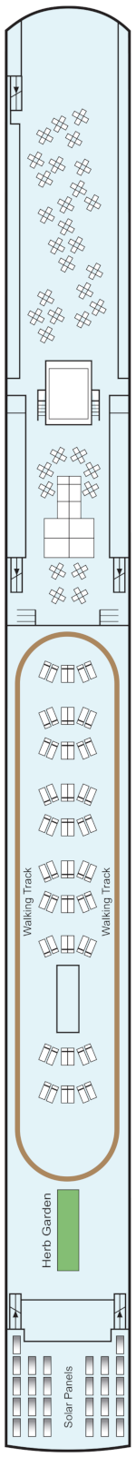 Viking Gersemi Sun Deck Deck Plan