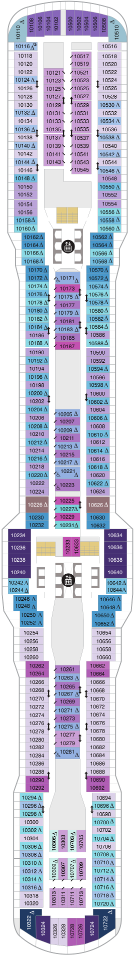 Odyssey Of The Seas Null Deck Plan