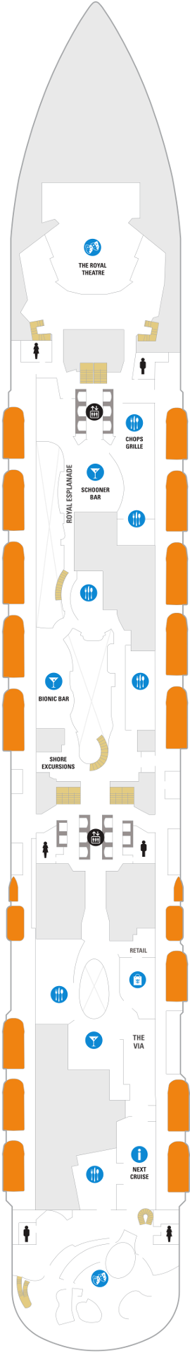 Odyssey Of The Seas Deck 5 Deck Plan