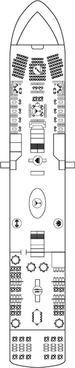 World Navigator Deck 4 Deck Plan