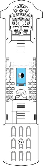 World Navigator Deck 7 Deck Plan