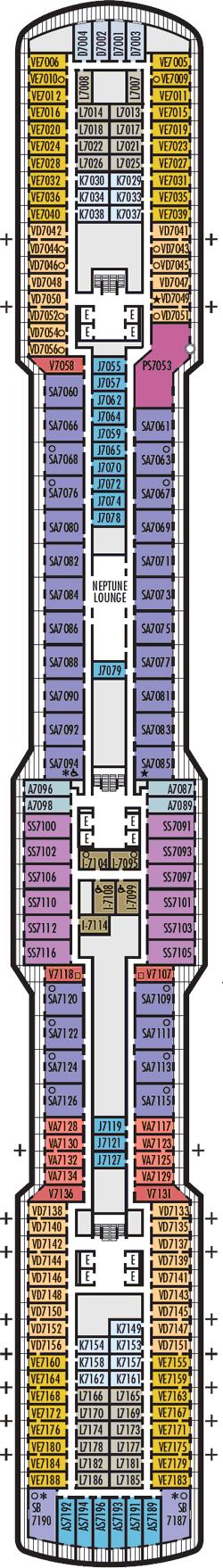 Rotterdam Schubert Deck Deck Plan