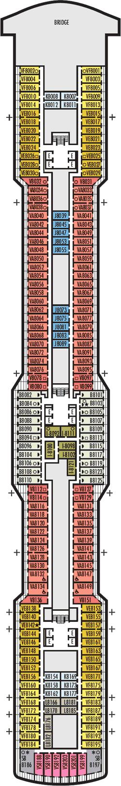 Rotterdam Navigation Deck Deck Plan