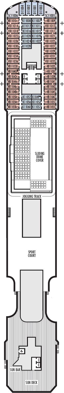 Rotterdam Sun Deck Deck Plan