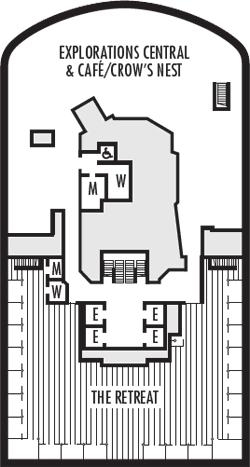Rotterdam Observation Deck Deck Plan
