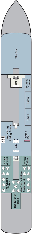 Viking Neptune Deck 1 Deck Plan