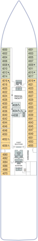 Azamara Onward Deck 4 Deck Plan