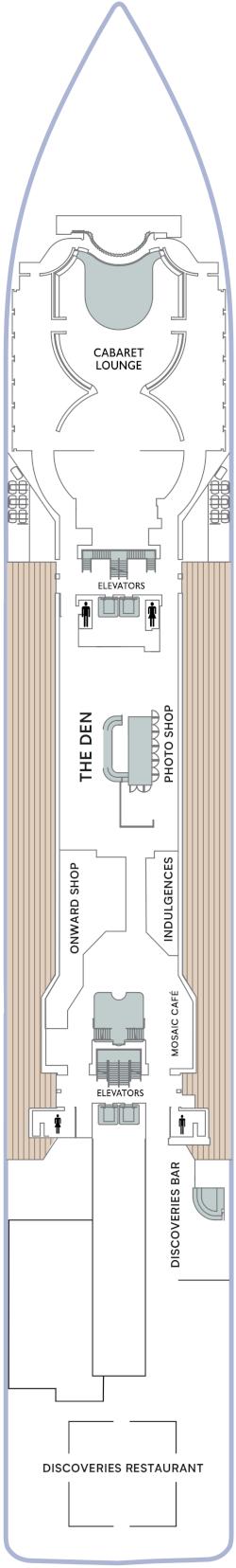 Azamara Onward Deck 5 Deck Plan