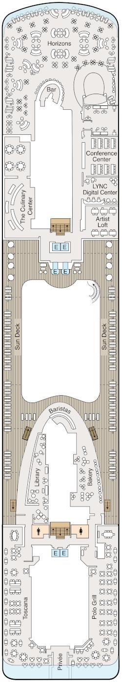 Vista Deck 14 Deck Plan