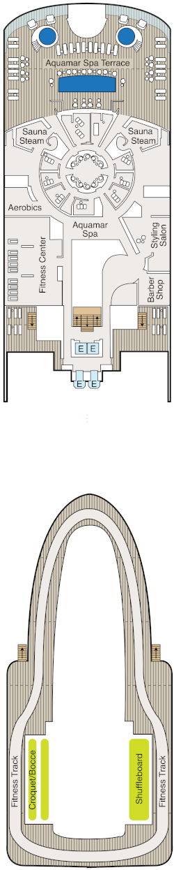 Vista Deck 15 Deck Plan