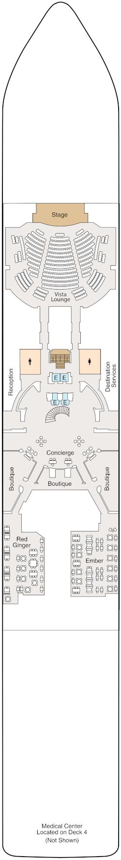 Vista Deck 5 Deck Plan