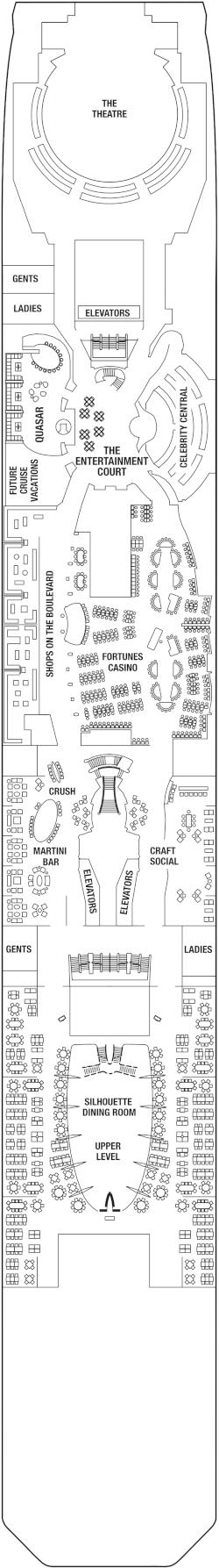 Celebrity Equinox Deck 4 Deck Plan
