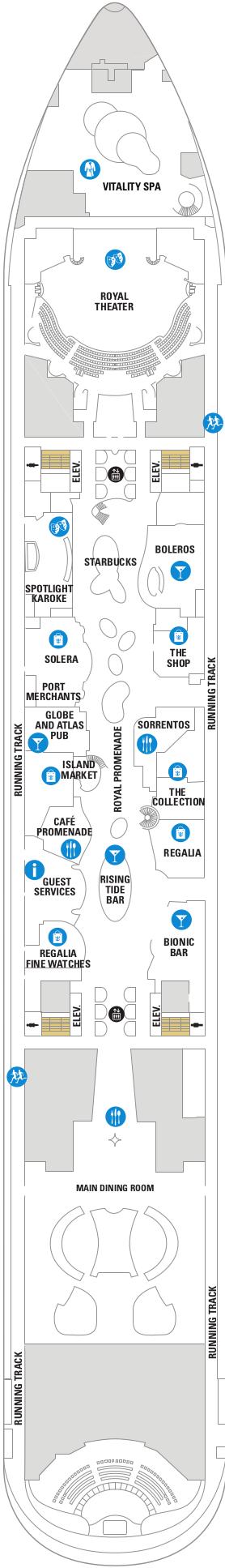 Oasis Of The Seas Deck 5 Deck Plan