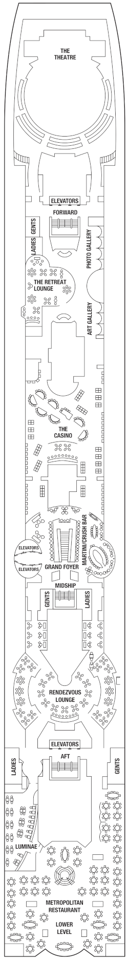 Celebrity Millennium Deck 4 Deck Plan