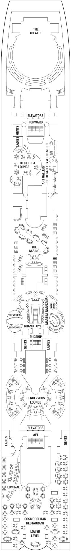 Celebrity Summit Deck 5 Deck Plan