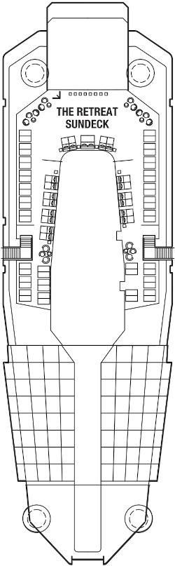 Celebrity Eclipse Deck 15 Deck Plan