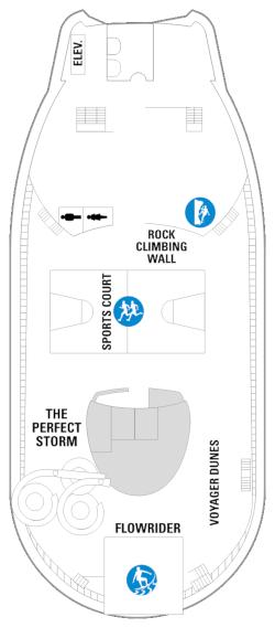 Voyager Of The Seas Deck Thirteen Deck Plan