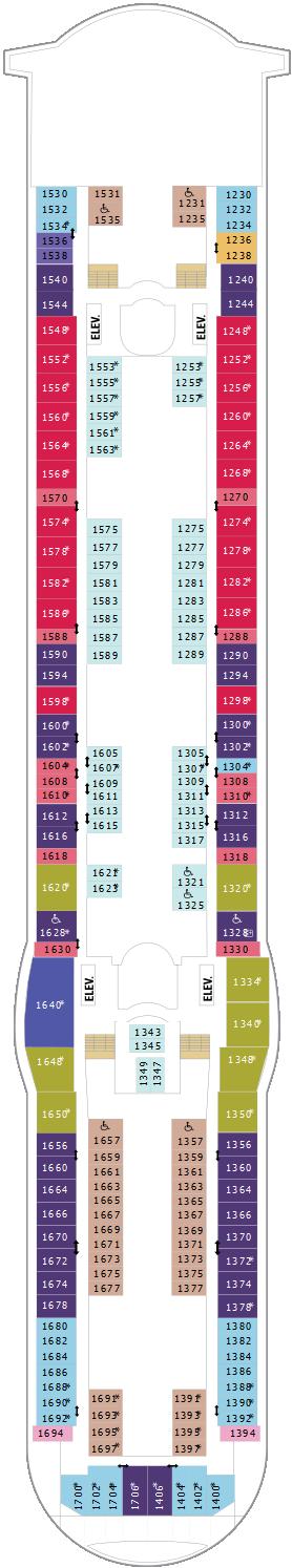 Independence Of The Seas Deck Ten Deck Plan