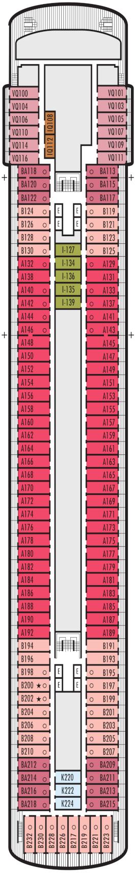 Veendam Verandah Deck Deck Plan