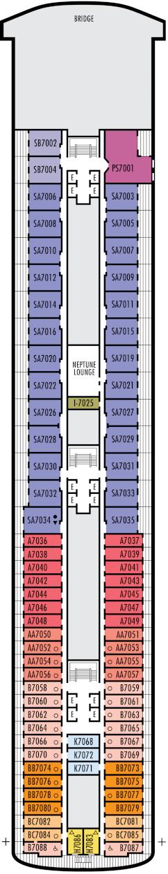 Volendam Navigation Deck Deck Plan