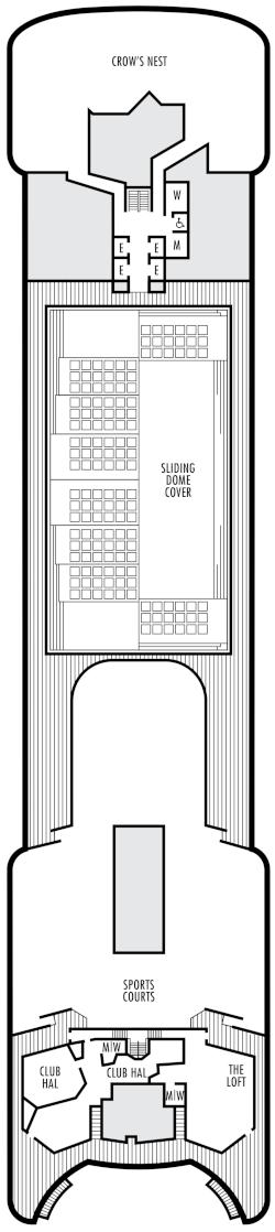 Volendam Sports Deck Deck Plan