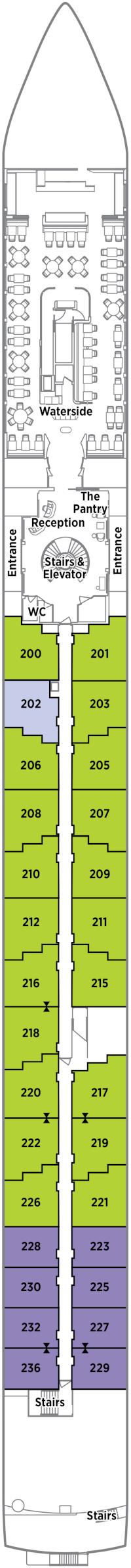 Crystal Bach Seahorse Deck Deck Plan