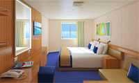 Carnival Victory Oceanview Stateroom