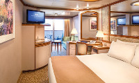 Coral Princess Suite Stateroom