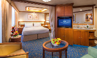 Golden Princess Suite Stateroom