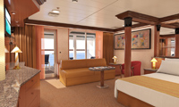 Carnival Ecstasy Suite Stateroom