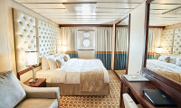 Pacific Princess Oceanview Stateroom