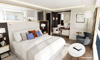 Crystal Mahler Suite Stateroom