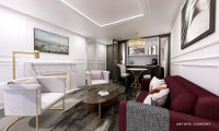 Crystal Debussy Suite Stateroom