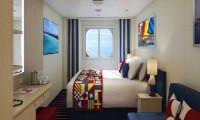 Carnival Panorama Oceanview Stateroom