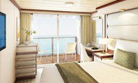 Enchanted Princess Balcony Stateroom