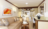 Enchanted Princess Suite Stateroom