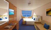 Carnival Radiance Oceanview Stateroom